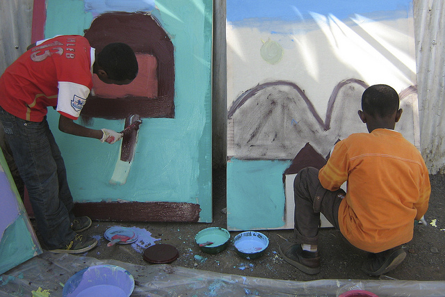 Education and development through art, Ethiopia