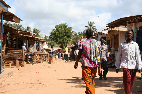 Walk through Mtwara - med