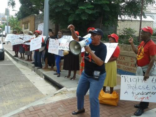 SA Protest