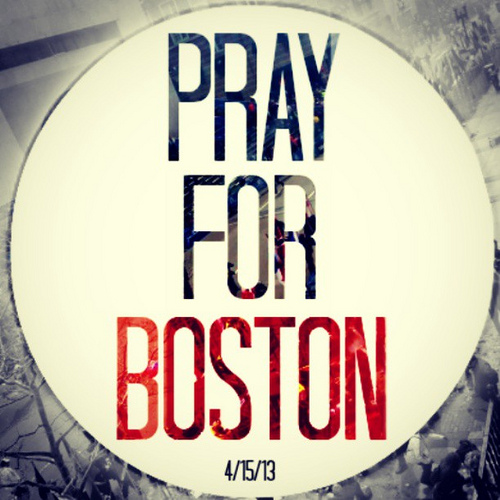 #Prayfor Boston | by Flickr user Bill Bedzrah