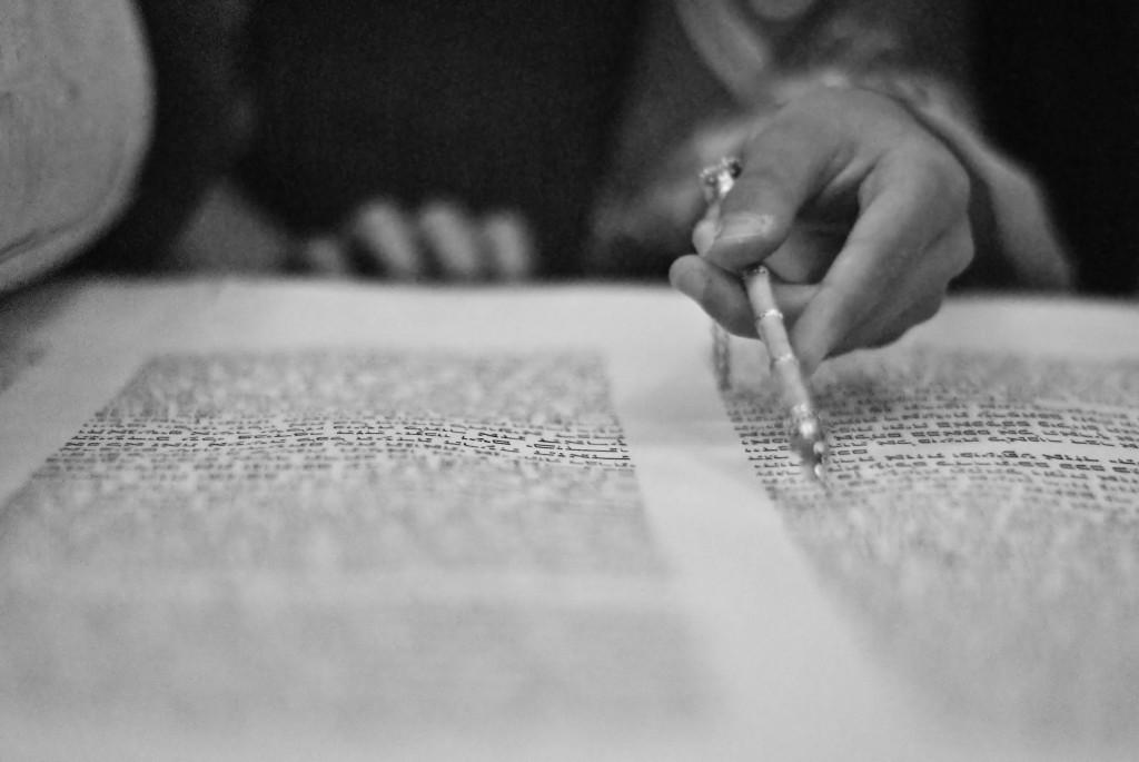 The Torah | Image via Flickr user Allison Richards