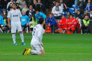 Cristiano Ronaldo se lamenta | image via flickr user Jan SOLO
